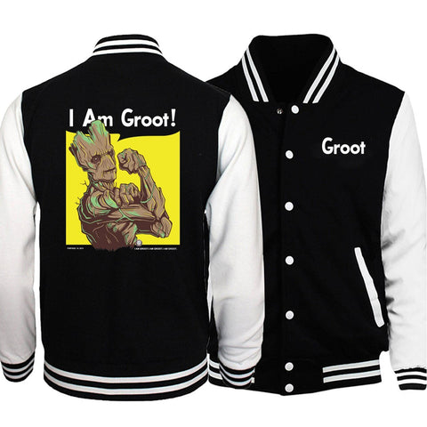 Veste Teddy Marvel<br/> Je s'appelle Groot
