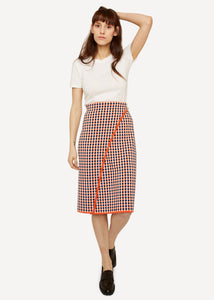 Oleana Gingham graph Wickelrock