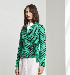 Oleana Quiliters Jacket - chlorophyll