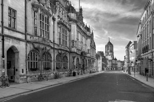 Oxford Town Hall, Tom Tower on St. Aldates