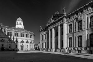 The Sheldonian Theatre and Bodleian Library