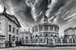 The Sheldonian Theatre, With Clouds