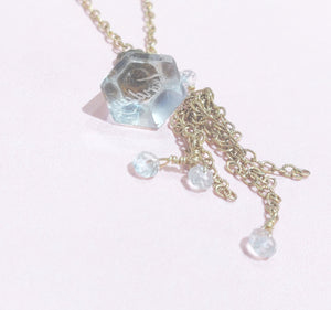 Girl Friday Necklace - Vintage Quartz Seal