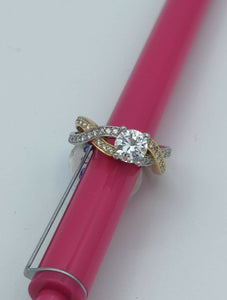 Annie Engagement Ring Mounting in Platinum and Diamond