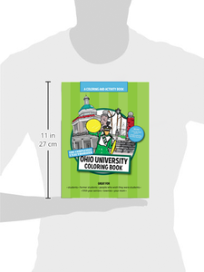 Size of Ohio University coloring book