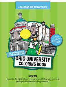 Ohio University gift funny coloring book