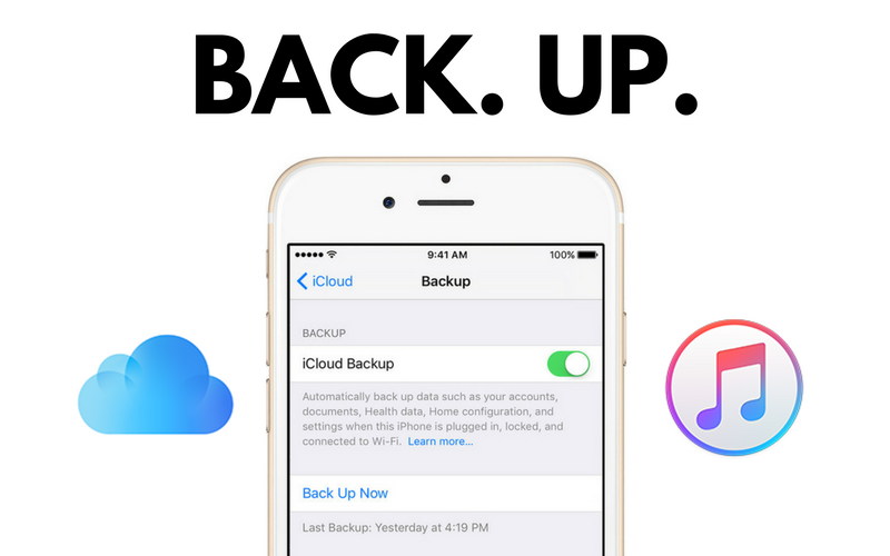 BACKUP DO SEU IPHONE COM ICLOUD OU ITUNES ?