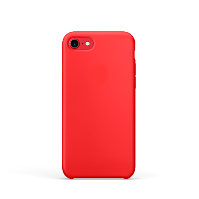 Capa | iPhone 7 & 8 | Silicone Red - imobiles