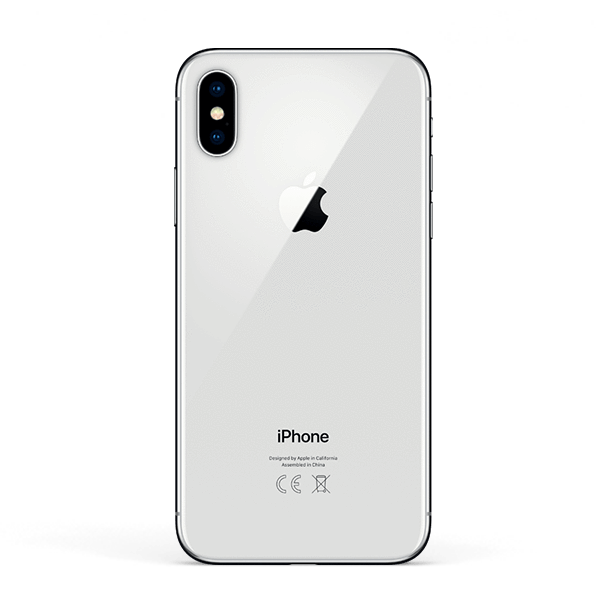 iPhone X 256GB Silver - imobiles