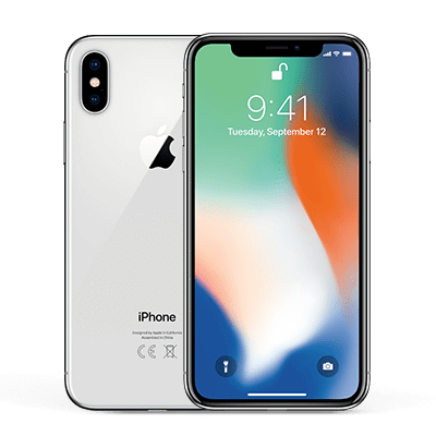 iPhone X 64GB Prateado