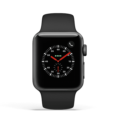 Poupe+ | Apple Watch 3 42mm Black ( GPS + CEL ) | Stock-off - imobiles