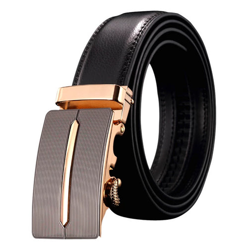 Genuine leather simple cowboy belt