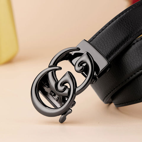 Genuine Leather Women G Belt