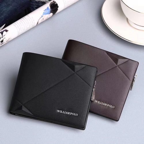 Exclusive leather genuine men wallets