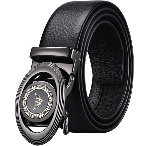 High Quality Zinc Alloy Buckle Business Men Belt