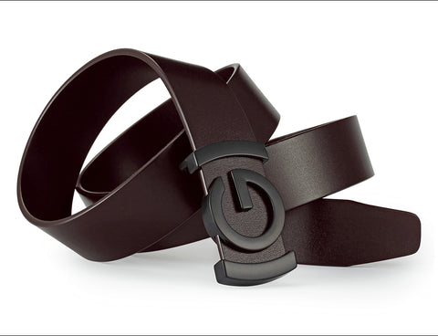 Genuine Leather Men's Dark G Belt