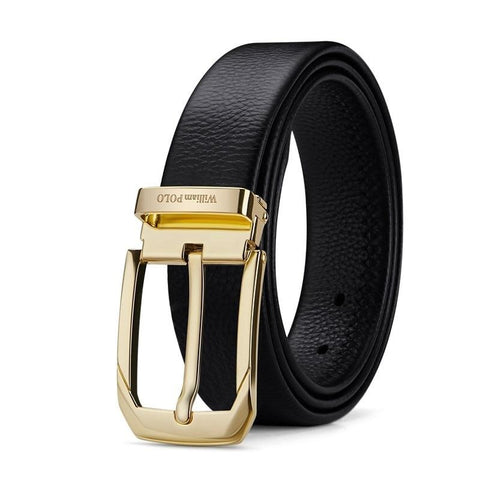 Pin Buckle Men Belt