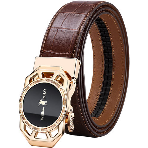 Top Quality Genuine Leather  Luxury  Belts For Men