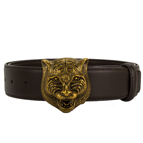 Genuine Leather Women Tiger Belt