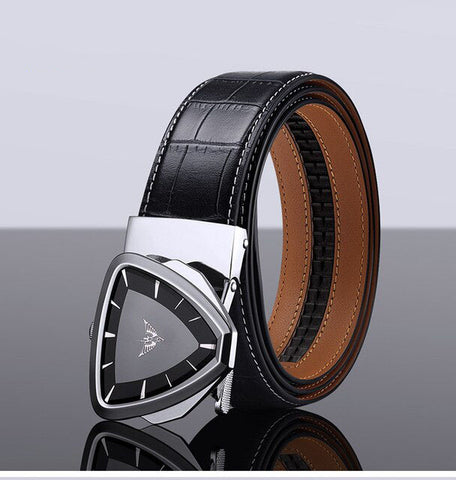 Exclusive Genuine Leather Male Belts