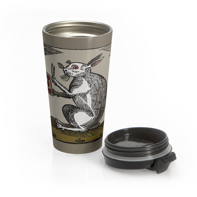 Jack the Rabbit Stainless Steel Travel Mug
