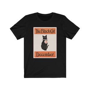 The Black Cat Unisex Jersey Short Sleeve Tee
