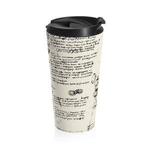 Da Vinci's Notebook Stainless Steel Travel Mug