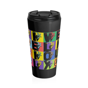 Live Deliciously Stainless Steel Travel Mug