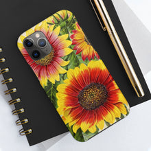 Load image into Gallery viewer, Sunflowers Case Mate Tough Phone Cases