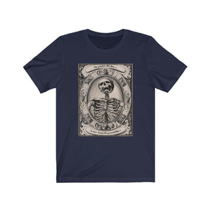 A Skeleton By Alexander Mair Unisex Jersey Short Sleeve Tee