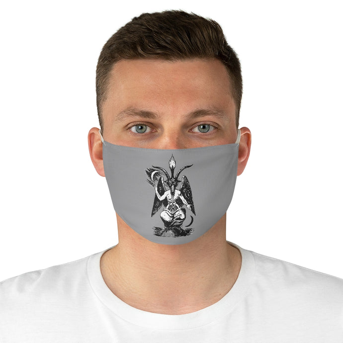 Baphomet Fabric Face Mask