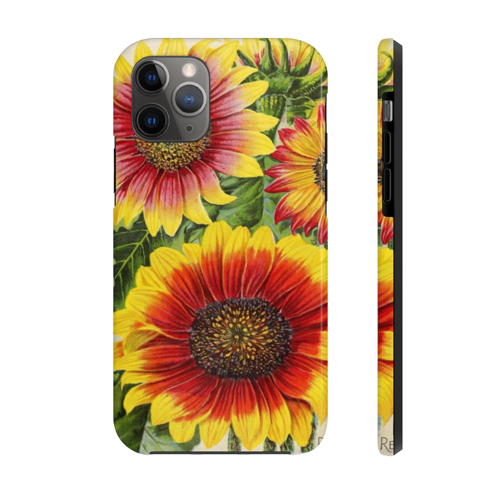 Sunflowers Case Mate Tough Phone Cases