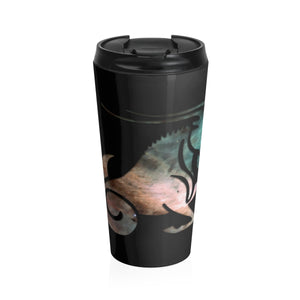 Capricorn Galaxy Stainless Steel Travel Mug