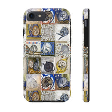Load image into Gallery viewer, Medieval Cats Licking Their Butts Case Mate Tough Phone Cases