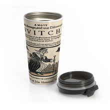 Load image into Gallery viewer, Discovery of a VVitch Stainless Steel Travel Mug