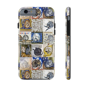 Medieval Cats Licking Their Butts Case Mate Tough Phone Cases