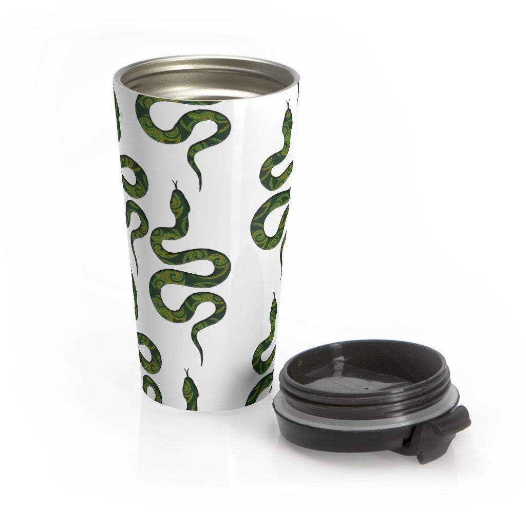 Snakes Stainless Steel Travel Mug
