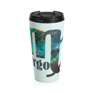 Virgo Galaxy Stainless Steel Travel Mug