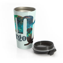 Load image into Gallery viewer, Virgo Galaxy Stainless Steel Travel Mug