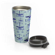 Load image into Gallery viewer, Libra Lapis Stainless Steel Travel Mug