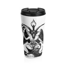 Load image into Gallery viewer, Baphomet Stainless Steel Travel Mug