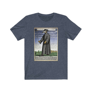 Plague Doctor Unisex Jersey Short Sleeve Tee