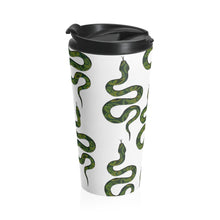 Load image into Gallery viewer, Snakes Stainless Steel Travel Mug