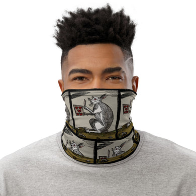 Jack the Rabbit Face Mask/Neck Gaiter