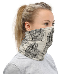 The Palm Lines Face Mask/Neck Gaiter