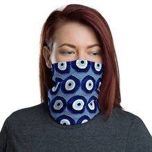 Load image into Gallery viewer, Evil Eye Amulet Face Mask/Neck Gaiter