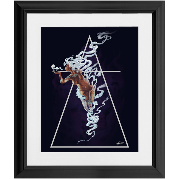 Air (2020) Framed Print