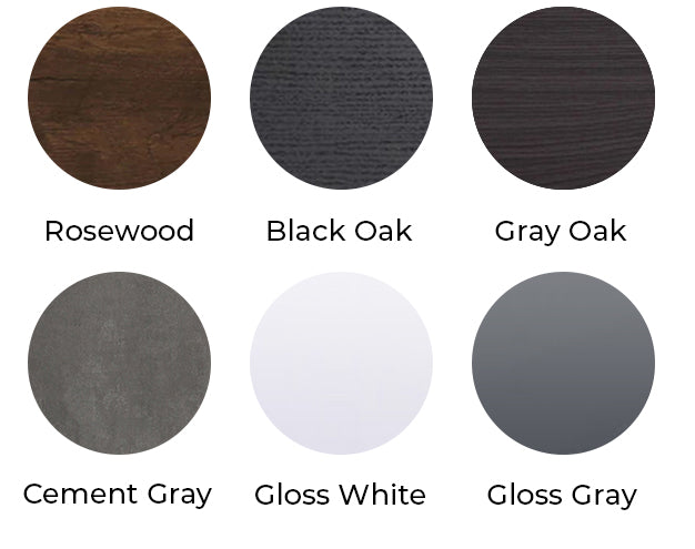 Monterey Side Cabinet Color Chart