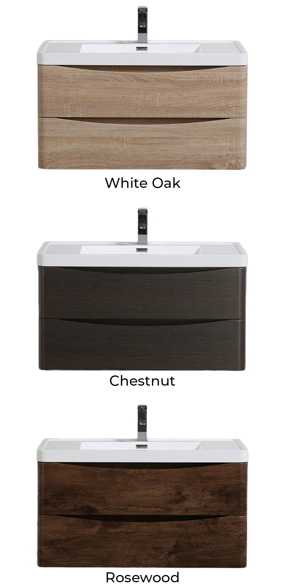 Felicita Floating Vanity Color Chart