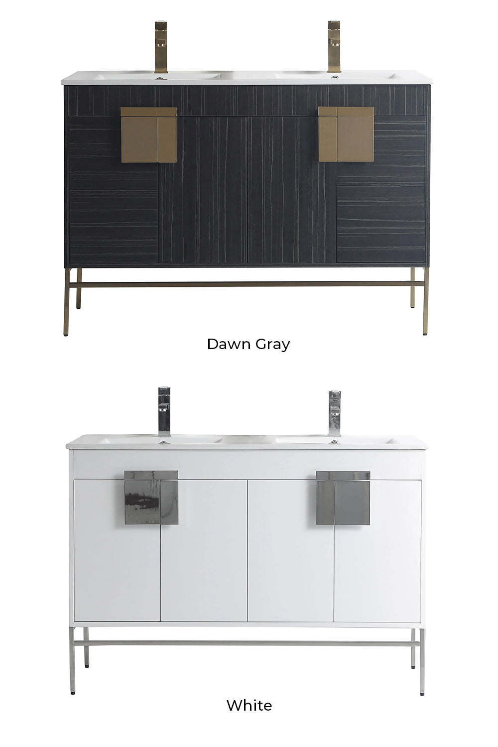Kuro Contemporary Vanity Color Selection